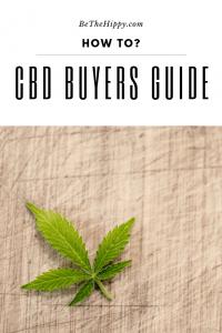 CBD Buyers Guide