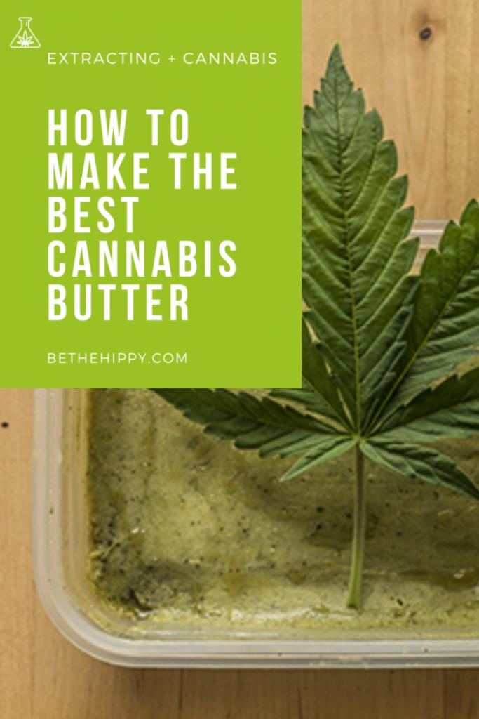 How to Make Cannabis CBD Butter